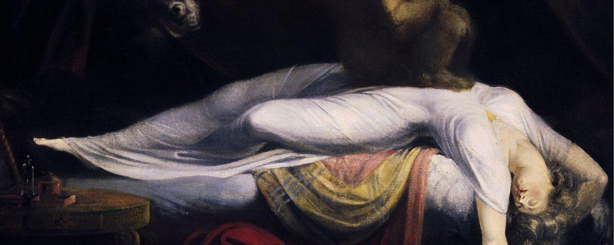 Le Cauchemar, célèbre tableau de Johann Heinrich Füssli, dans sa version de 1781